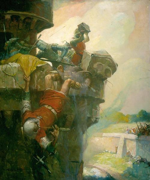 Ivanhoe - The Parapet Of Torquilstone
