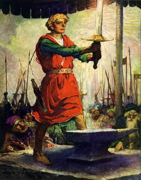 King Arthur - The Sword In The Stone