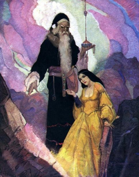 King Arthur - Merlin And Nimue