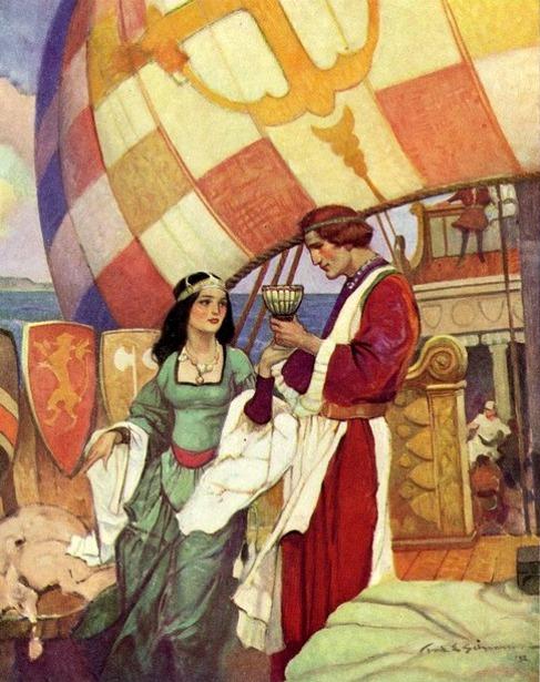 King Arthur - Tristram And Isolde