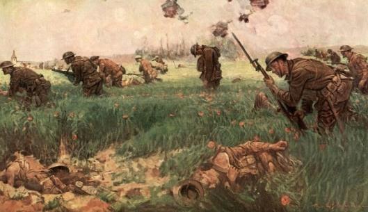 The Marines Took Bouresches