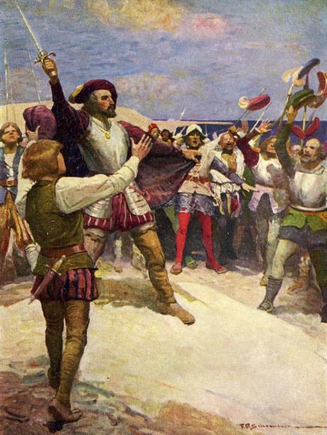 With Cortes The Conqueror