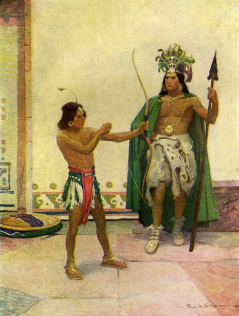 With Cortes The Conqueror - He Was Not Spared