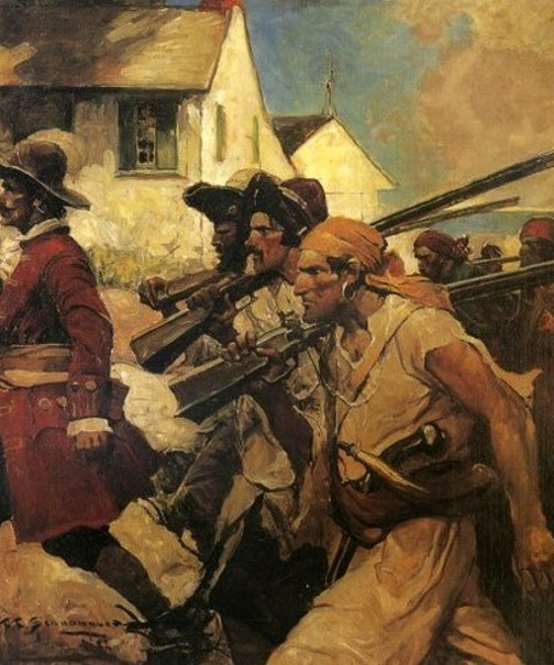 Pirates - This Lean Straight Rover Looked The Part Of A Competent Soldier