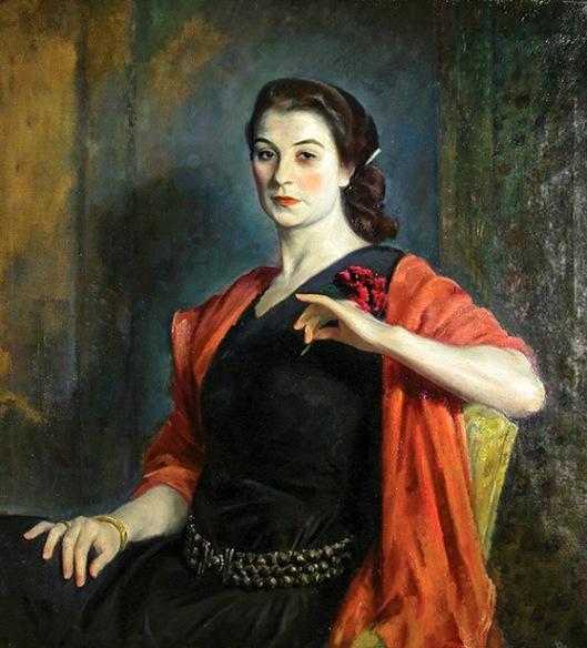 Portrait Of A French Girl (Jeanne Balzac)