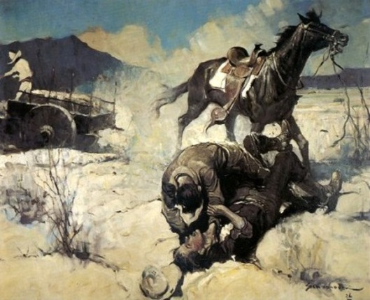 The Fight On The Desert