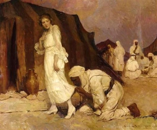 The White Angel - As Louise Approached The Door Of Her Tent...