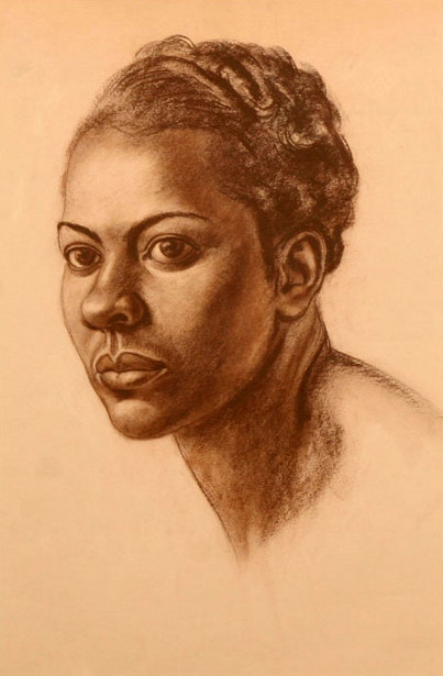 African American Female Portrait