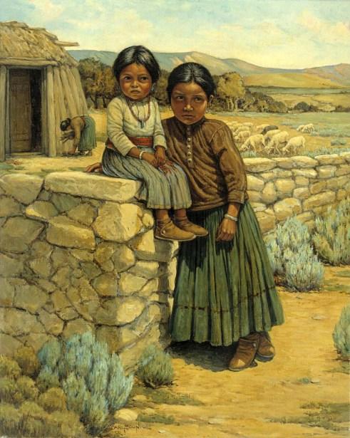 Navajo Sisters