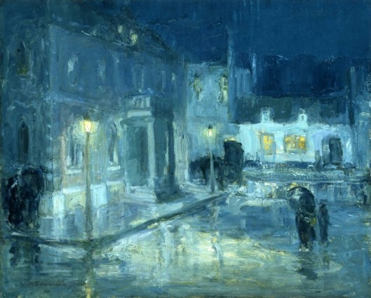 Rainy Night, Etaples