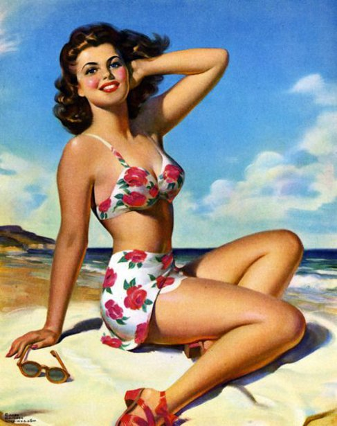 Summer Fun - Beauty On The Beach