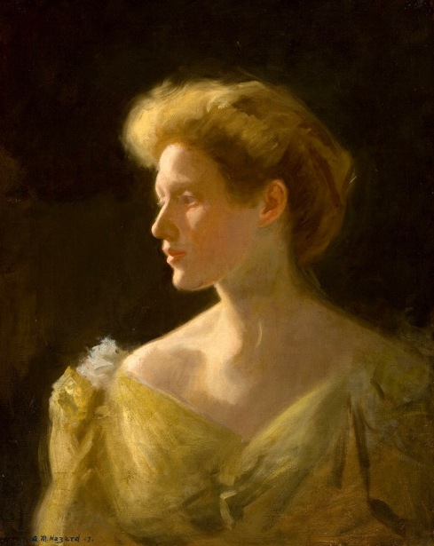 Woman In A Yellow Dress