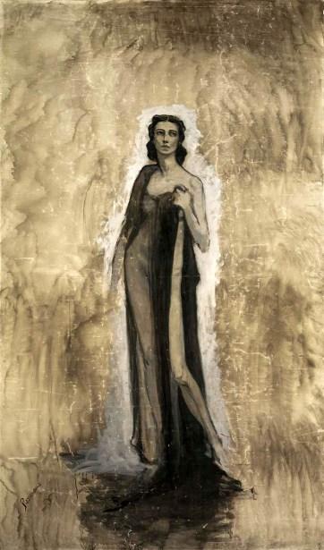 Sketch Of Ida Rubinstein