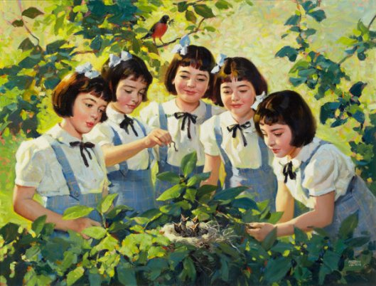 The Dionne Quintuplets - Maytime