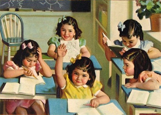 The Dionne Quintuplets - School Days