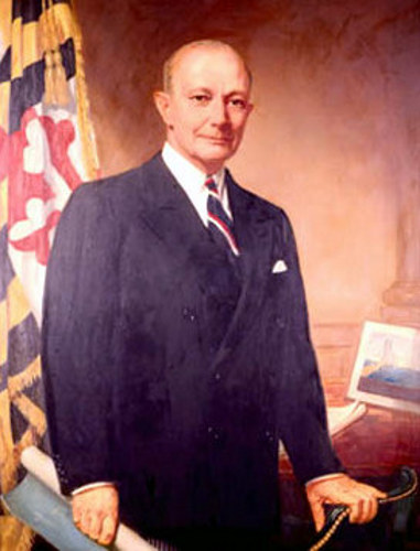William Preston Lane Jr., Governor Of Maryland