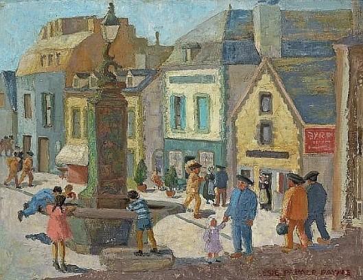 Breton Fountain