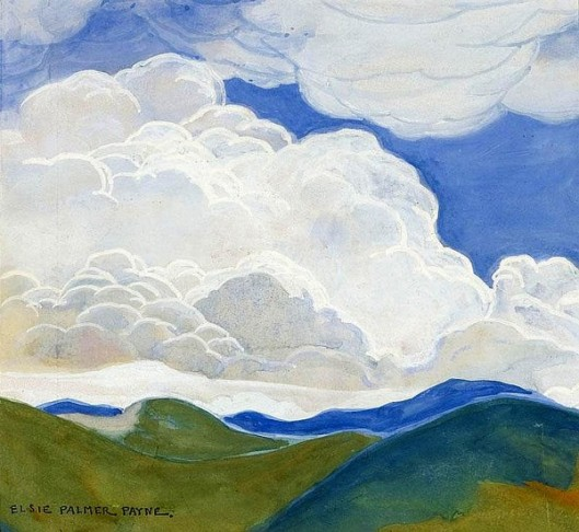 Clouds In An Atmospheric Landscape