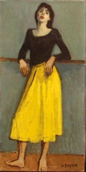 Dancer In Yellow Dress