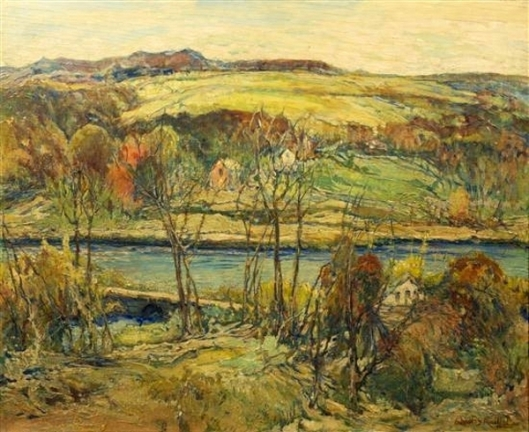 Autumn River Valley