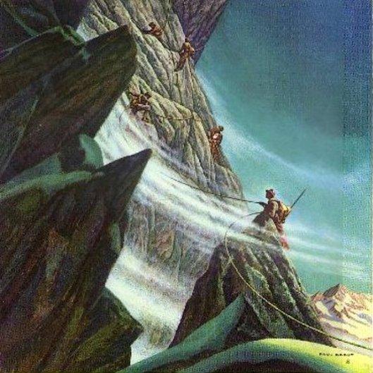 Edward Whymper Climbs Matterhorn, 1865