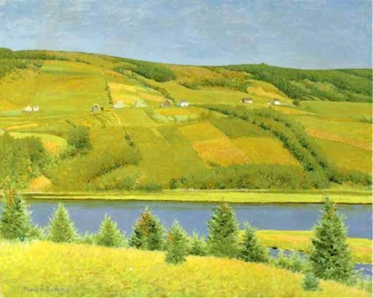 Margaree River Valley, Cape Breton, Nova Scotia