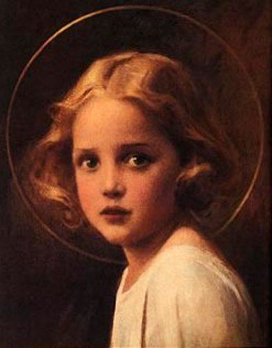 Mystical Rose, Young Mary - Mary Most Holy