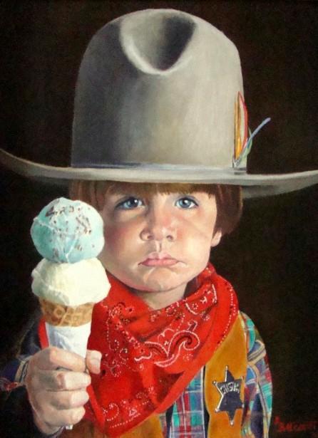 Pouting Cowboy