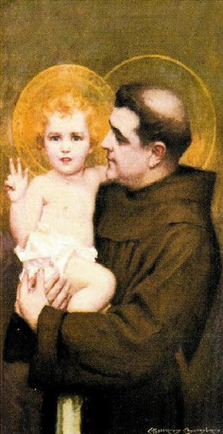 St. Anthony And Child Jesus