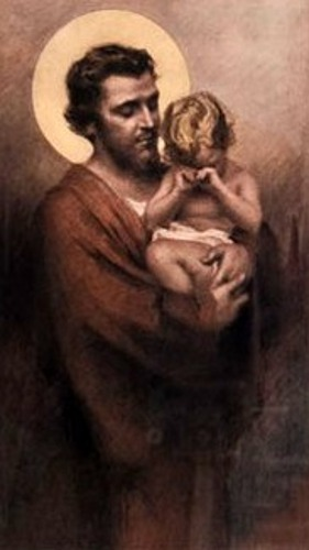 St. Joseph And Child