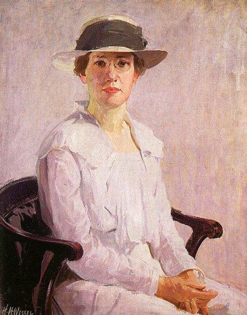 The Artist's Wife (Bessie Wessel)