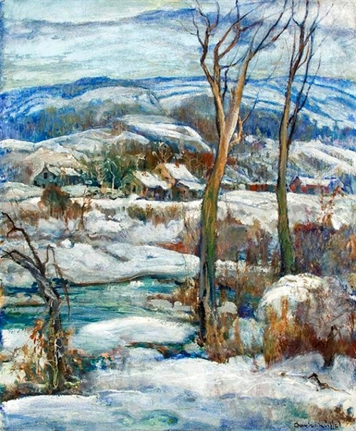 The Creek In Winter