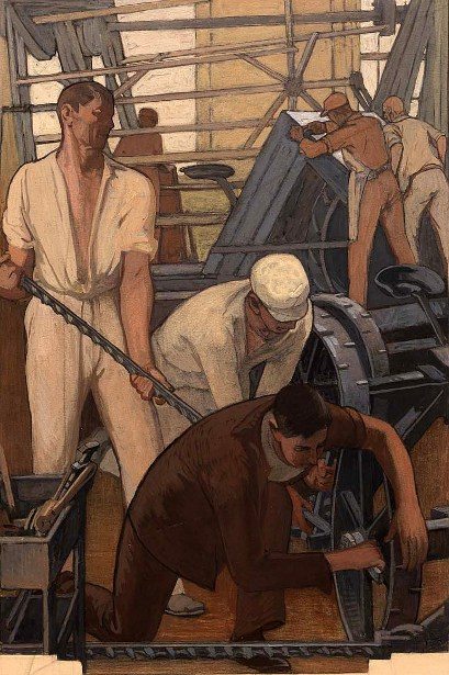 The Farm Implement Industry (mural)