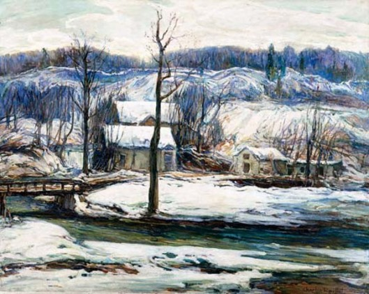 The Mill In Winter
