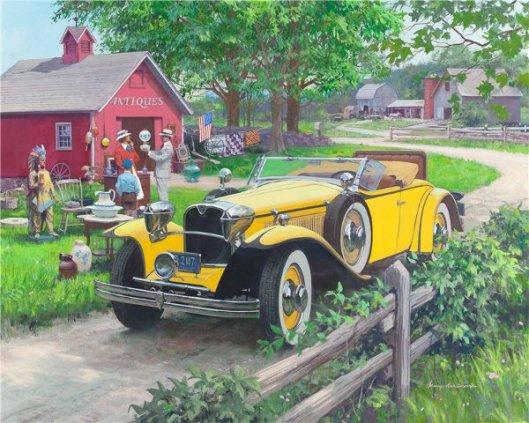 Barn Antiques: 1930 Ruxton