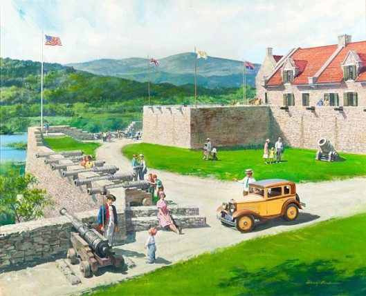 Fort Ticonderoga, New York: 1930 Austin Bautam