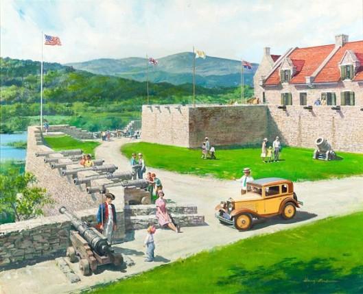 Fort Ticonderoga, New York: 1930 Austin Bautam
