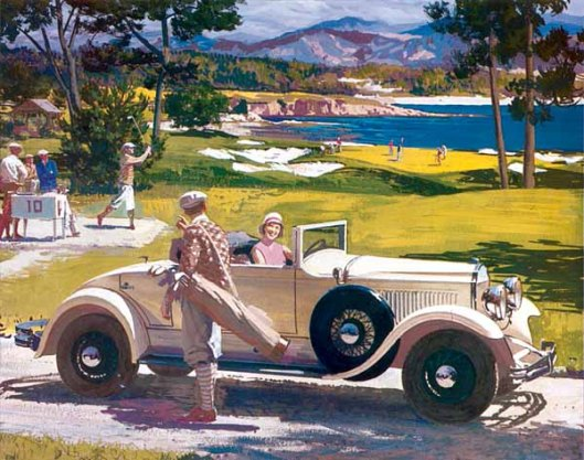 Golf: 1929 Chrysler Imperial Roadster
