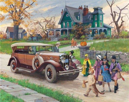 Halloween: 1929 Franklin Sports Car