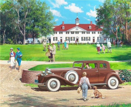 Mount Vernon, Virginia: 1933 Maranon V-16