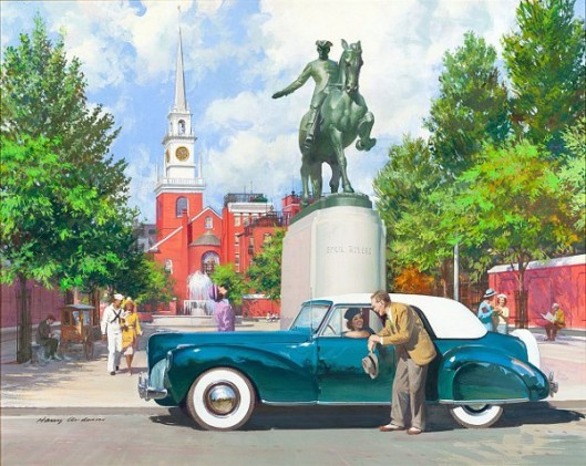 Paul Revere And 1941 Lincoln Continental