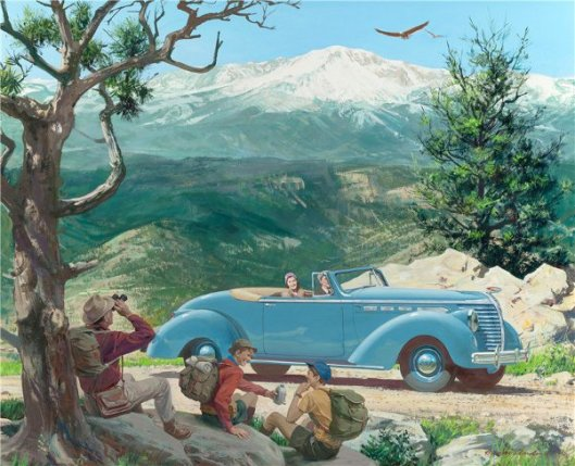 Pikes Peak, Colorado Springs: 1938 Hudson