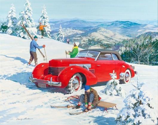 Pioneer American Skiers: 1937 Cord