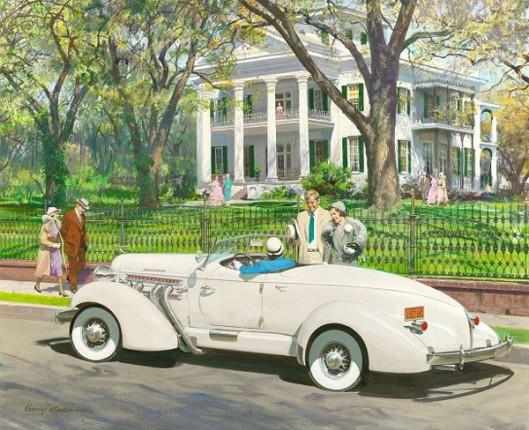 Stanton Hall, Natchez, Mississippi: 1935 Auburn