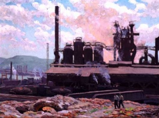 Steel Mills, Pittsburgh - Blast Furnace
