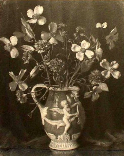 Still Life Of A Classical Vase