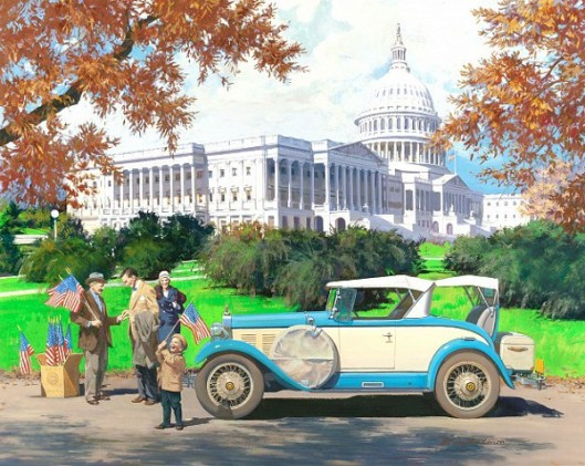 Washington D.C.: 1928 Falcon-Knight