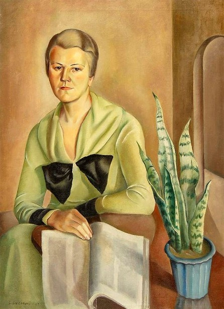 A Woman In Green