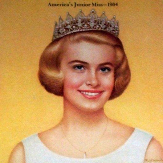 Linda Felber, America's Junior Miss, 1964