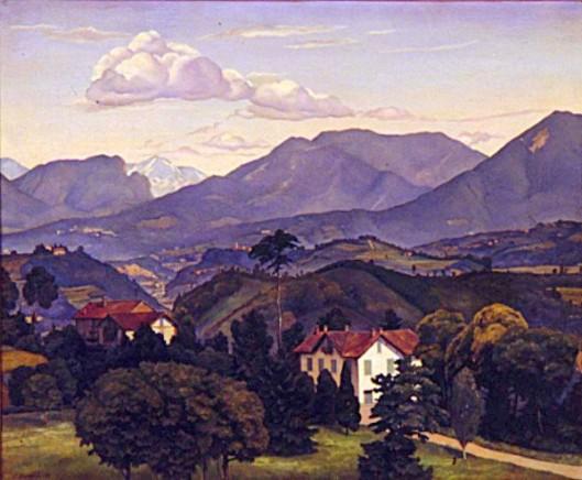 Lombard Landscape
